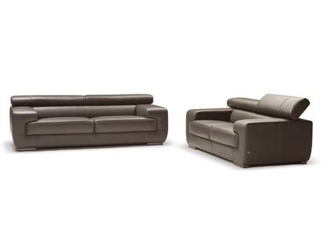 Nicoletti Grace Sofa 100 Full Italian Leather Instock In Dark Grey